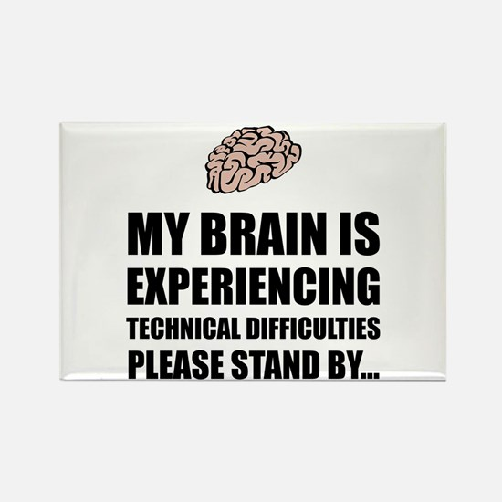 Brain Technical Difficulties Magnets