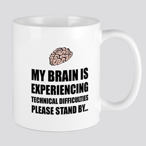 Brain Technical Difficulties Mugs