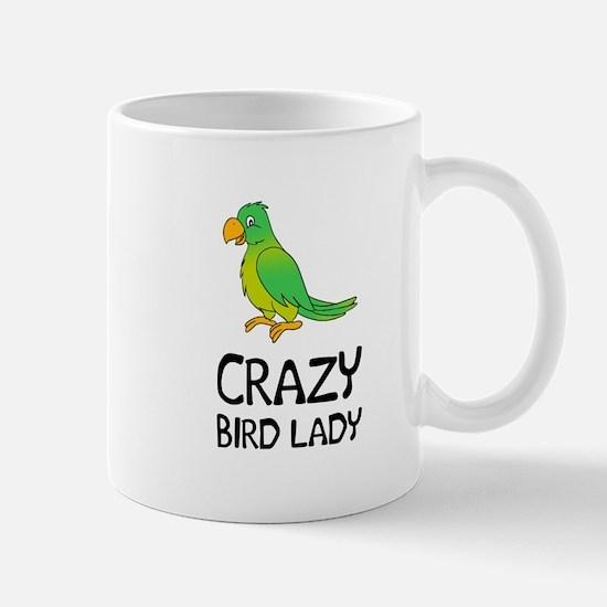 Crazy Bird Lady Mugs