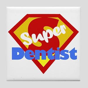 Super Dentist DDS Tile Coaster