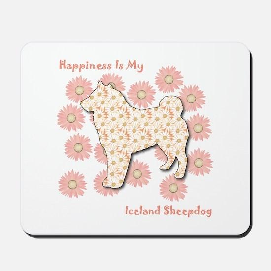 Sheepdog Happiness Mousepad