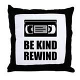 Be kind rewind Cotton Pillows