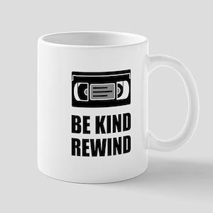 VHS Cassette Tape Be Kind Rewind Mugs