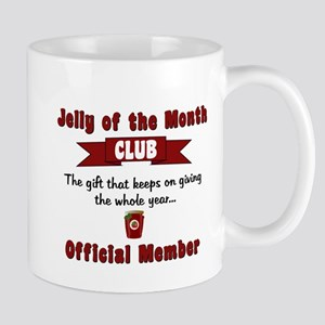 Jelly of the Month Christmas Mug