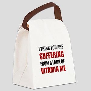 Vitamin Me Canvas Lunch Bag