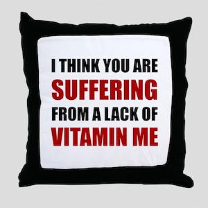 Vitamin Me Throw Pillow