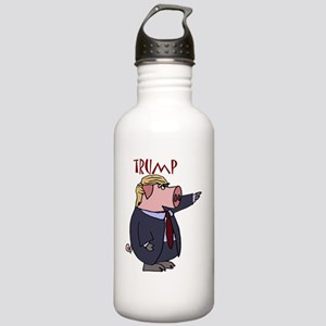 Funny Donald Trump Pol Stainless Water Bottle 1.0L