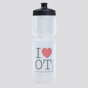 OT-iloveOT2 Sports Bottle