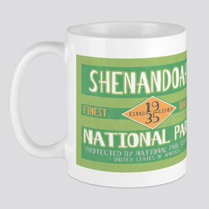 Shenandoah National Park (Retro) Mug