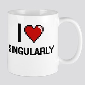 I Love Singularly Digital Design Mugs