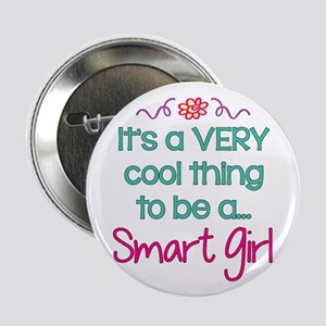 "Smart Girl... 2.25"" Button (10 pack)"