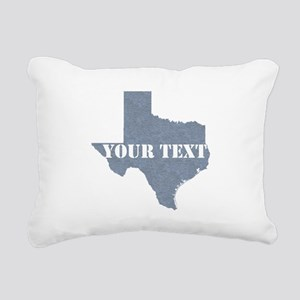 Personalize it Rectangular Canvas Pillow