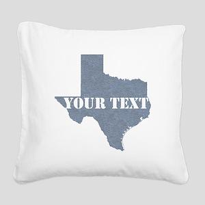 Personalize it Square Canvas Pillow