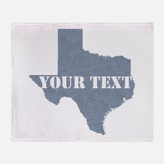 Personalize it Throw Blanket