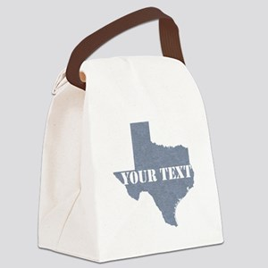 Personalize it Canvas Lunch Bag