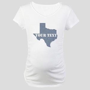 Personalize it Maternity T-Shirt