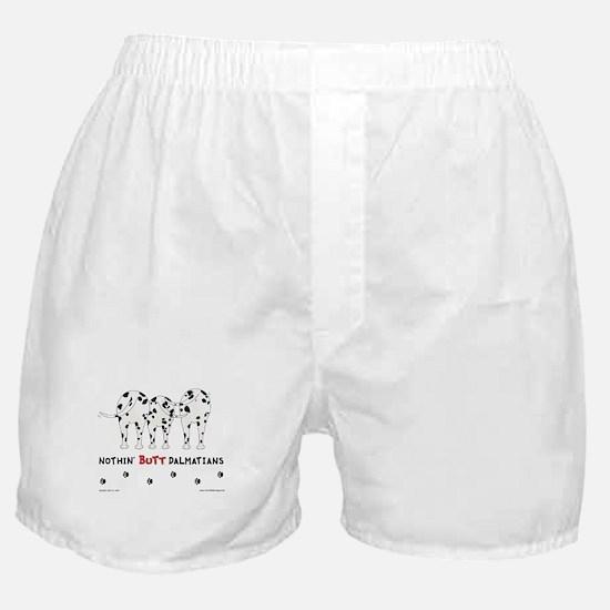 Nothin' Butt Dalmatians Boxer Shorts