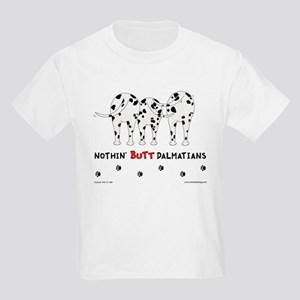 Nothin' Butt Dalmatians Kids T-Shirt