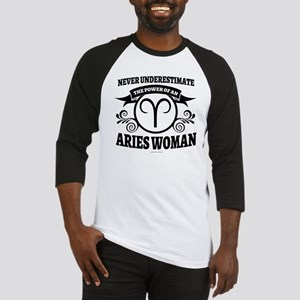 Aries Woman Baseball Jersey