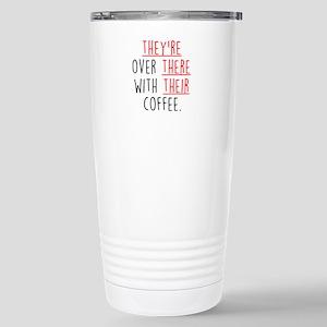 Grammar Lesson Stainless Steel Travel Mug
