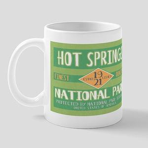 Hot Springs National Park (Retro) Mug