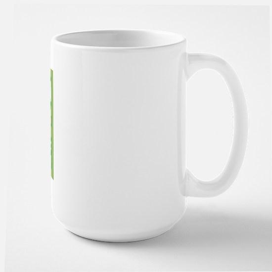 Grand Canyon National Park (Retro) Large Mug