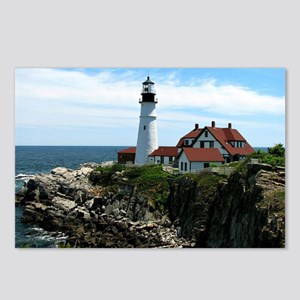 Portland, Maine Lighthous Postcards (Package of 8)