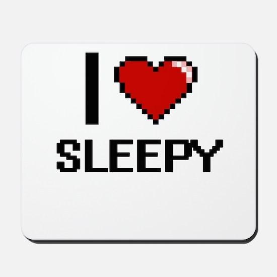 I love Sleepy Digital Design Mousepad