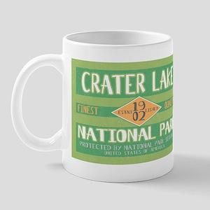Crater Lake National Park (Retro) Mug