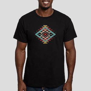 Native Style Rainbow S Men's Fitted T-Shirt (dark)