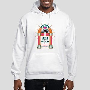 Oldies 1079 Hoodie Hooded Sweatshirt