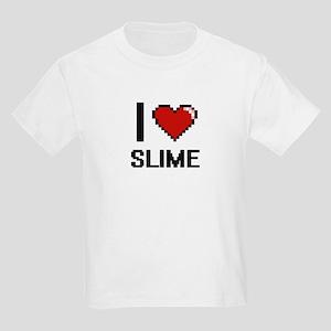 I love Slime Digital Design T-Shirt