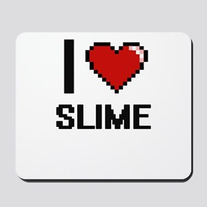 I love Slime Digital Design Mousepad