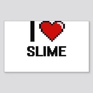 I love Slime Digital Design Sticker