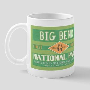 Big Bend National Park (Retro) Mug