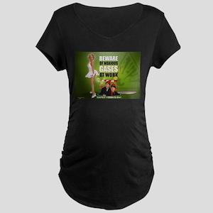 Safety Geeks SVI Maternity Dark T-Shirt