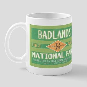Badlands National Park (Retro) Mug