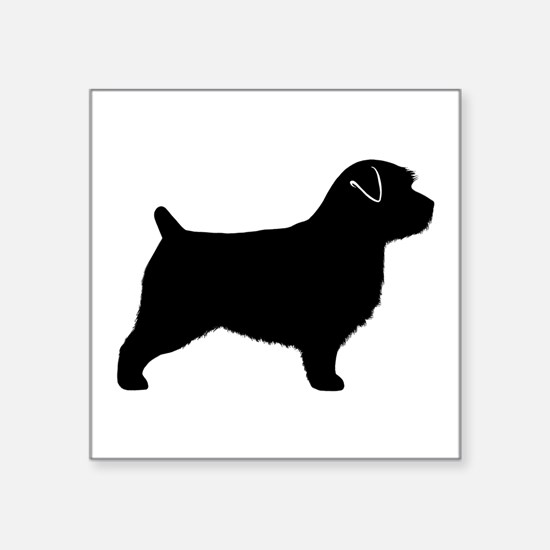 "Norfolk Terrier Square Sticker 3"" x 3"""