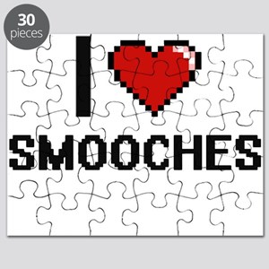 I love Smooches Digital Design Puzzle