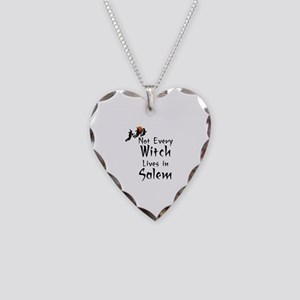 HALLOWEEN - NOT EVERY WITCH L Necklace Heart Charm