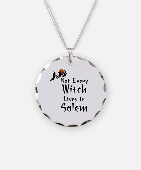 HALLOWEEN - NOT EVERY WITCH  Necklace