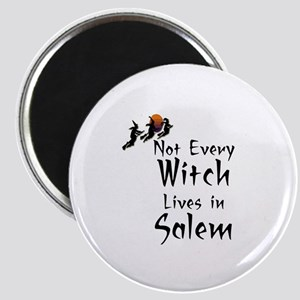 HALLOWEEN - NOT EVERY WITCH LIVES IN SALEM Magnet
