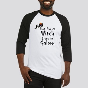 HALLOWEEN - NOT EVERY WITCH LIVES  Baseball Jersey