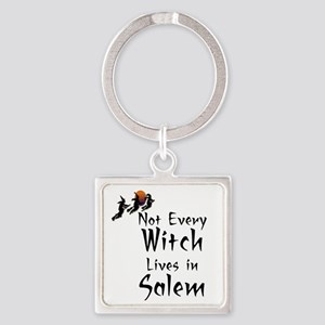 HALLOWEEN - NOT EVERY WITCH LIVES  Square Keychain