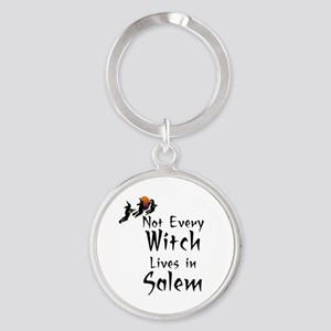 HALLOWEEN - NOT EVERY WITCH LIVES I Round Keychain