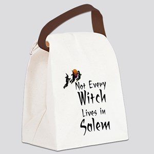 HALLOWEEN - NOT EVERY WITCH LIVES Canvas Lunch Bag