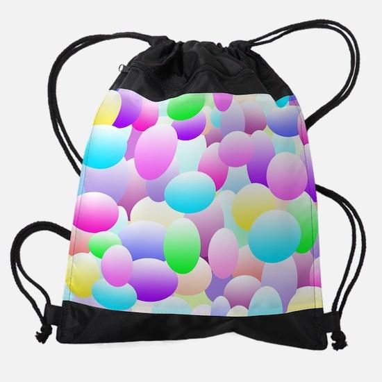 Bubble Eggs Light Drawstring Bag