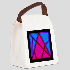 Archimedes Puzzle Canvas Lunch Bag