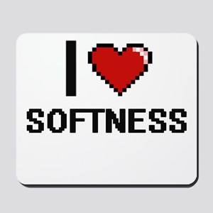 I love Softness Digital Design Mousepad