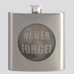Pluto Never Forget Flask
